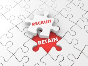 Recruit and retain employees by teleconsultation